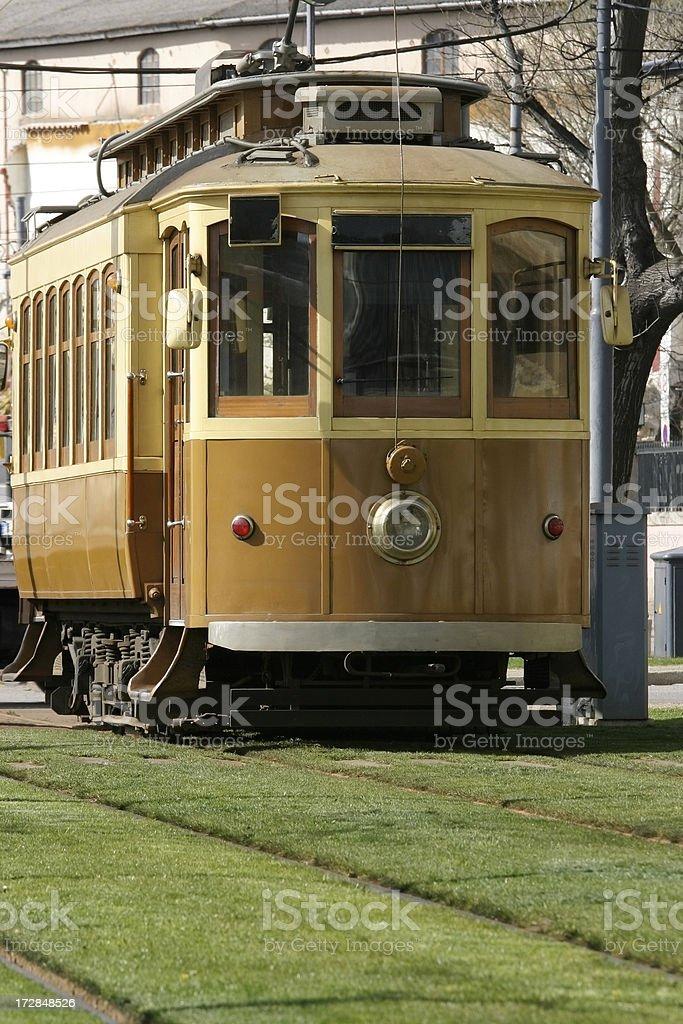 Porto Tram royalty-free stock photo