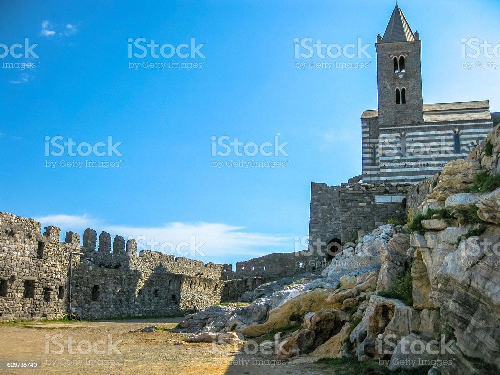 Porto venere Cinque Terre stock photo