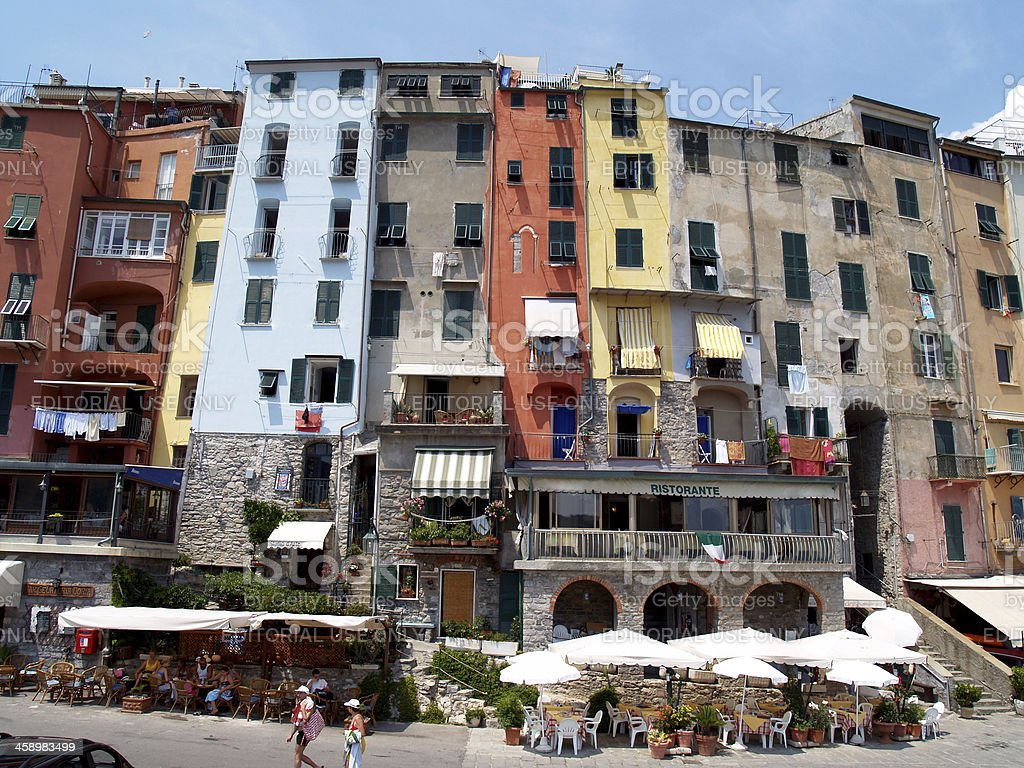 Porto Venere - Italy stock photo