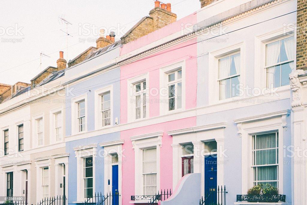 Portobello Road, Notting Hill, London stock photo