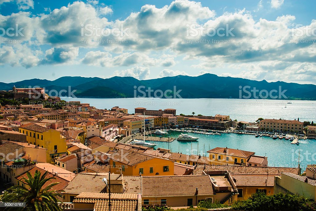 PortoFerraio, isola d'Elba - Italy stock photo