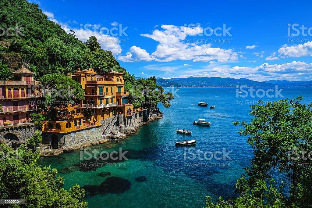 Portofino Bay stock photo
