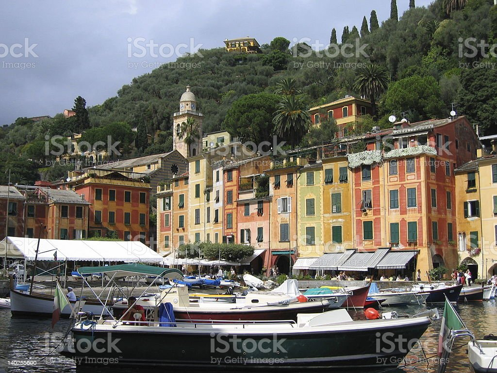 Portofino harbor 1 royalty-free stock photo