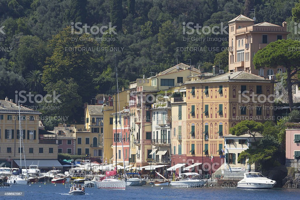 Portofino in Liguria, Italy royalty-free stock photo