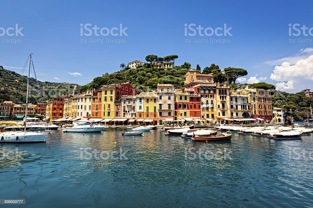 Portofino Italy stock photo