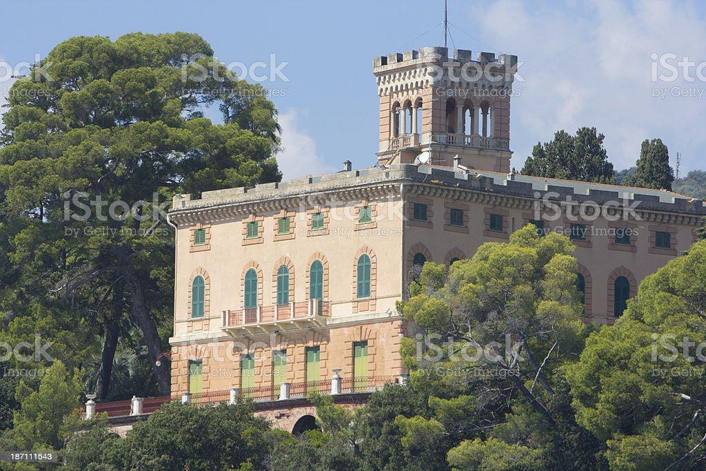 Portofino Peninsula on the Riviera di Levante, Italy royalty-free stock photo