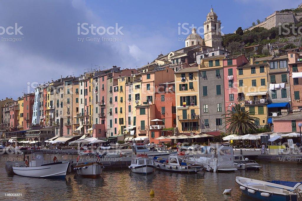 portovenere in  Italy stock photo