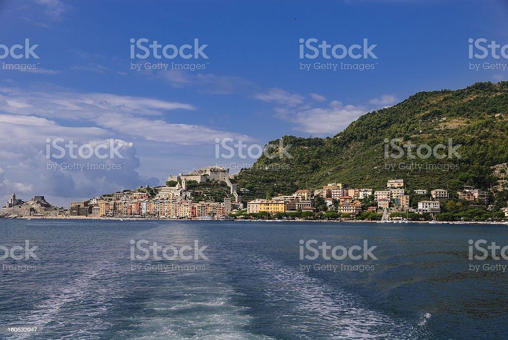 Portovenere, Italy royalty-free stock photo