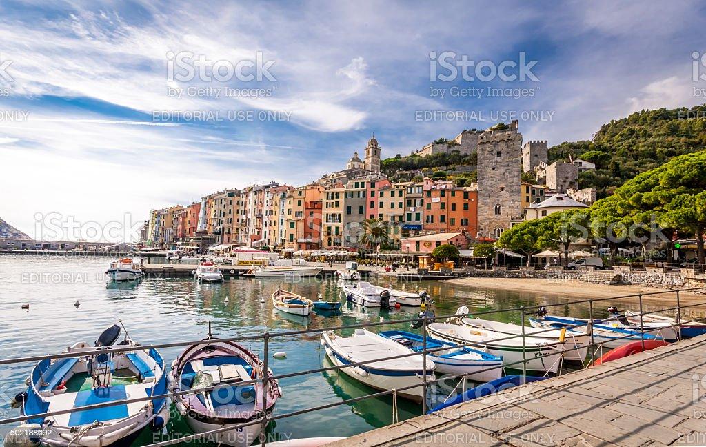 Portovenere, Italy stock photo