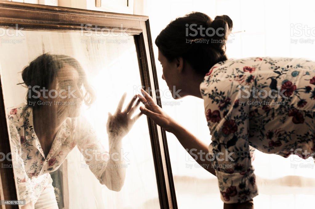 Portrait Artist's Studio stock photo