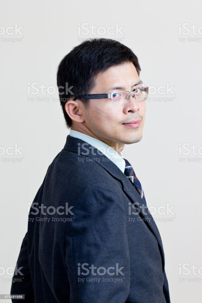 Portrait Asian businessman royalty-free stock photo