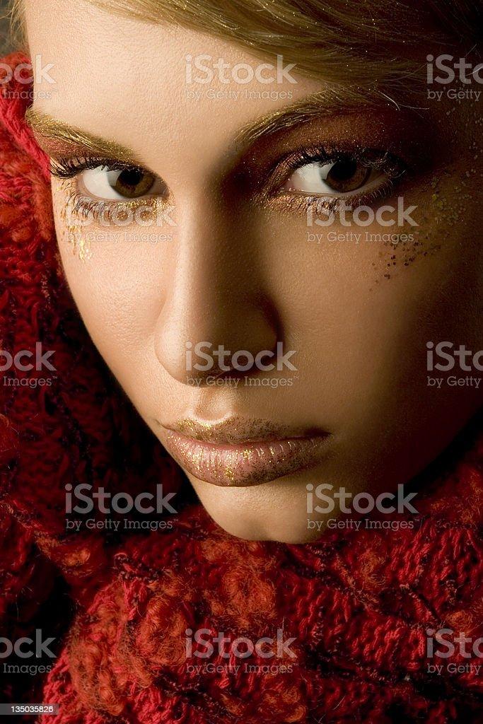 portrait - autumn royalty-free stock photo