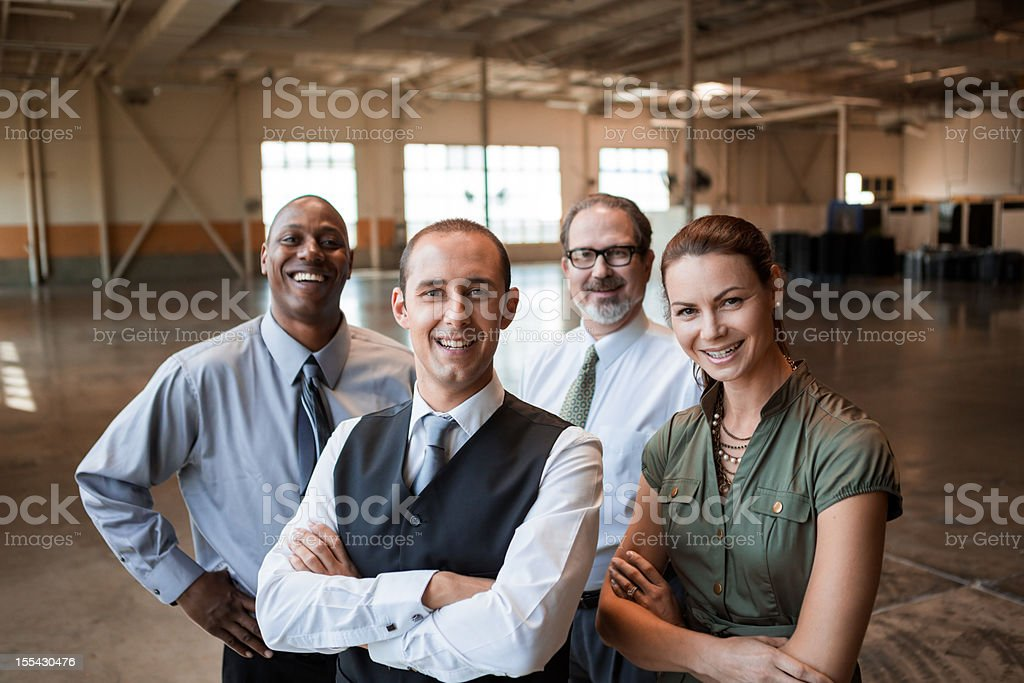 Portrait Business People royalty-free stock photo