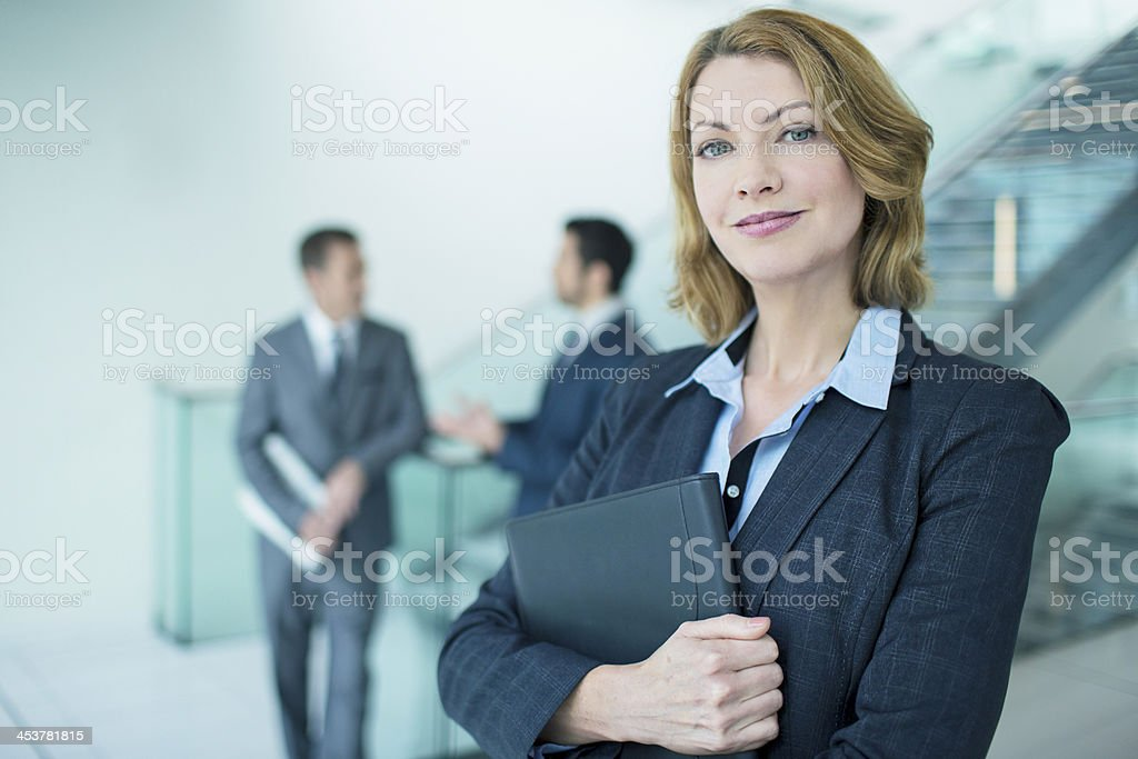 Portrait business woman royalty-free stock photo