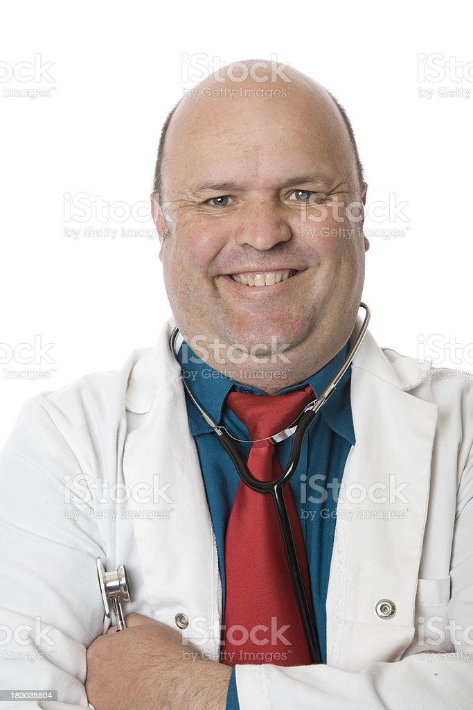 Portrait Doctor royalty-free stock photo