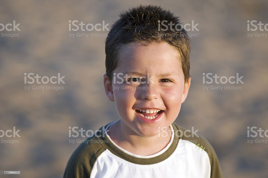 Portrait from a boy royalty-free stock photo