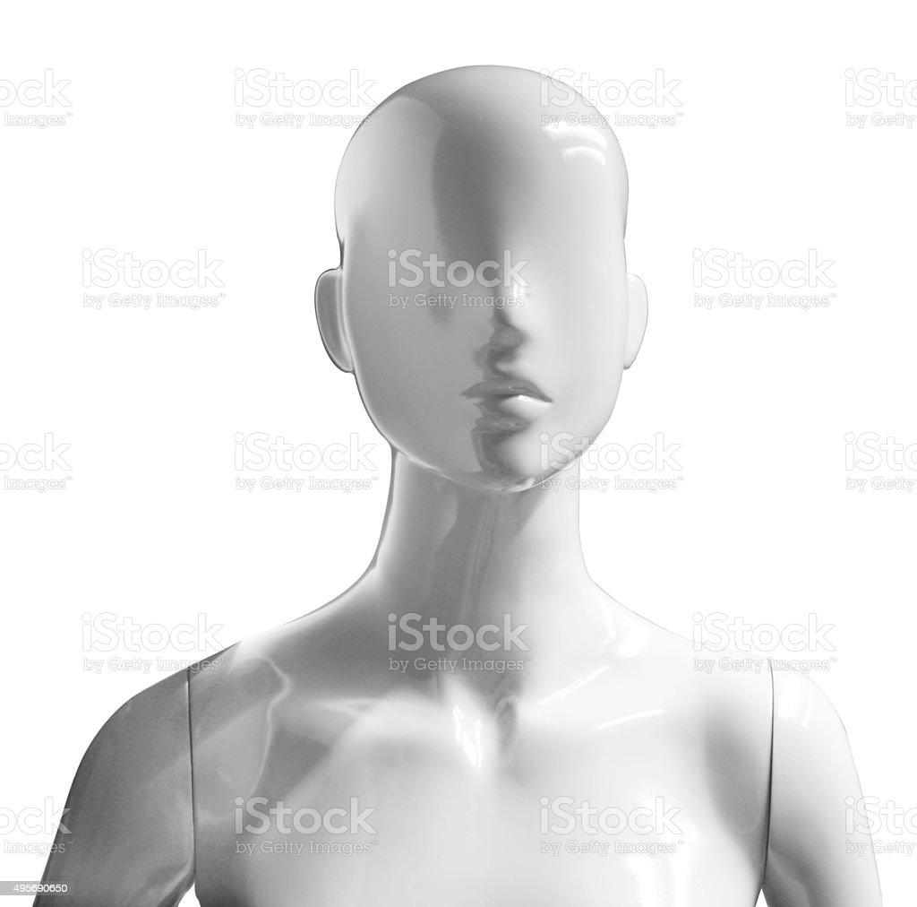 mannequin portrait stock photo