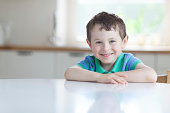 portrait of 5 years old boy