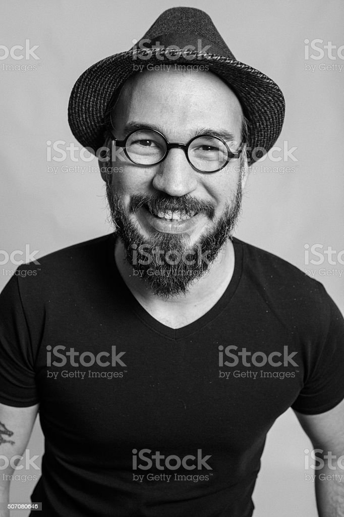 Portrait of a adult stock photo