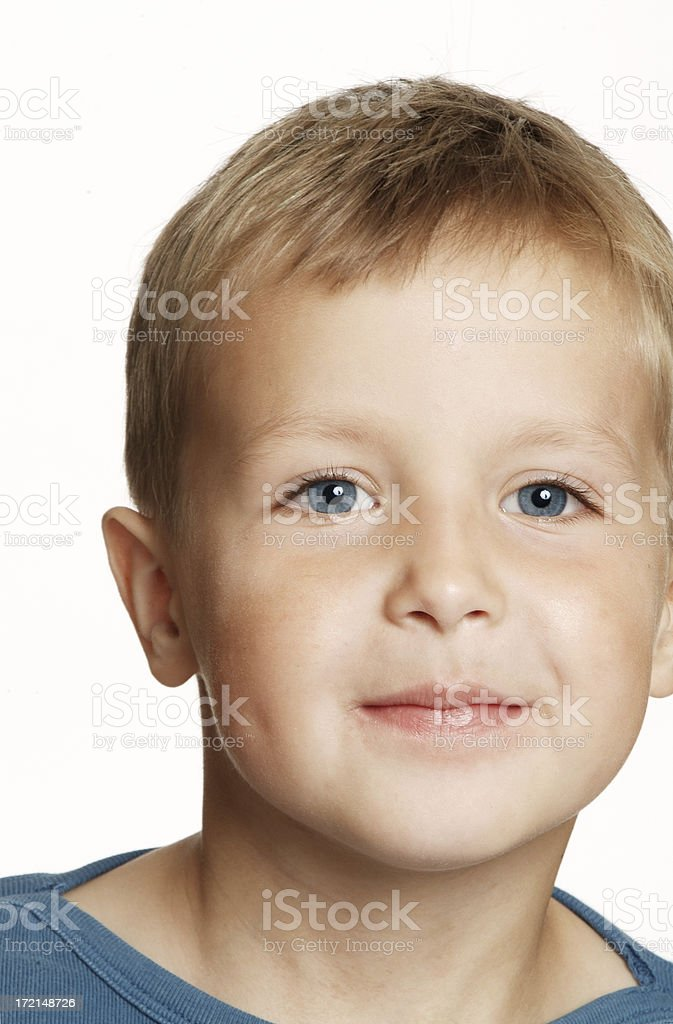 Portrait of a Boy royalty-free stock photo