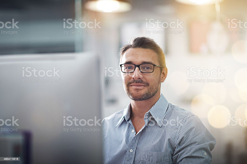 Whatever you are, be a good one stock photo