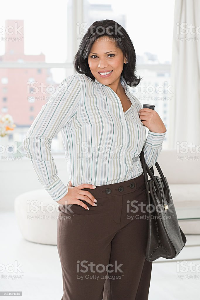 Portrait of a businesswoman royalty-free stock photo