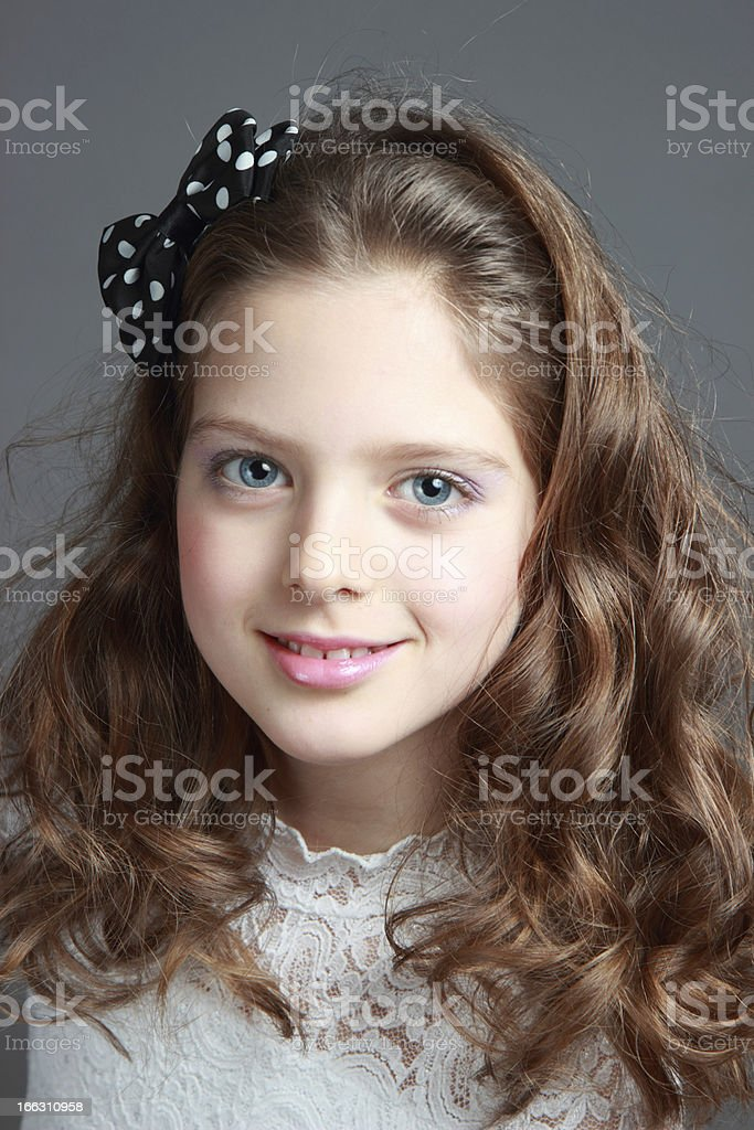 Portrait of a child. royalty-free stock photo