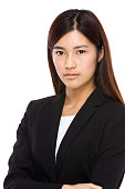 Portrait of a Chinese businesswoman