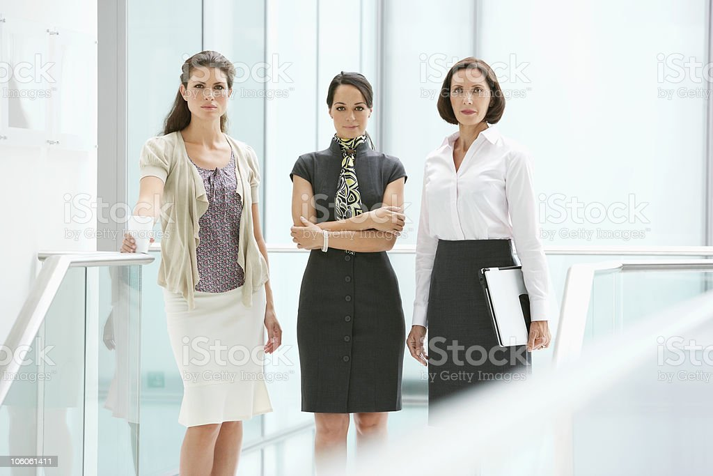 Portrait of a confident businesswomen royalty-free stock photo