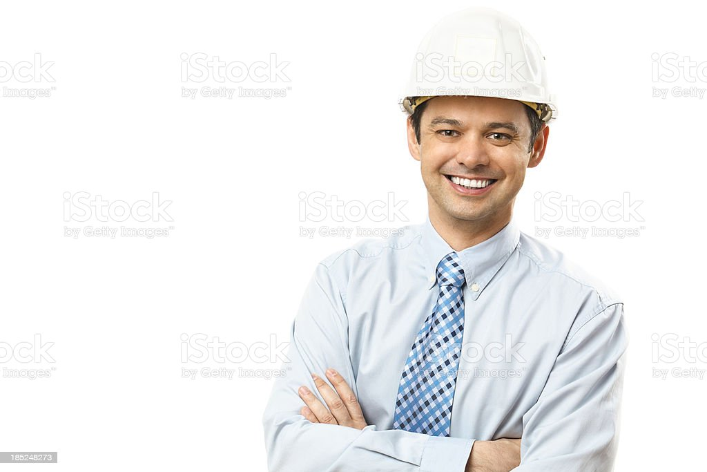 Portrait of a confident man royalty-free stock photo