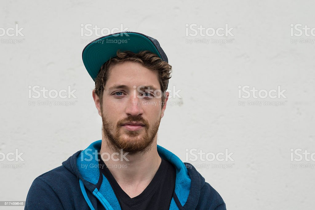 portrait of a cool dude stock photo
