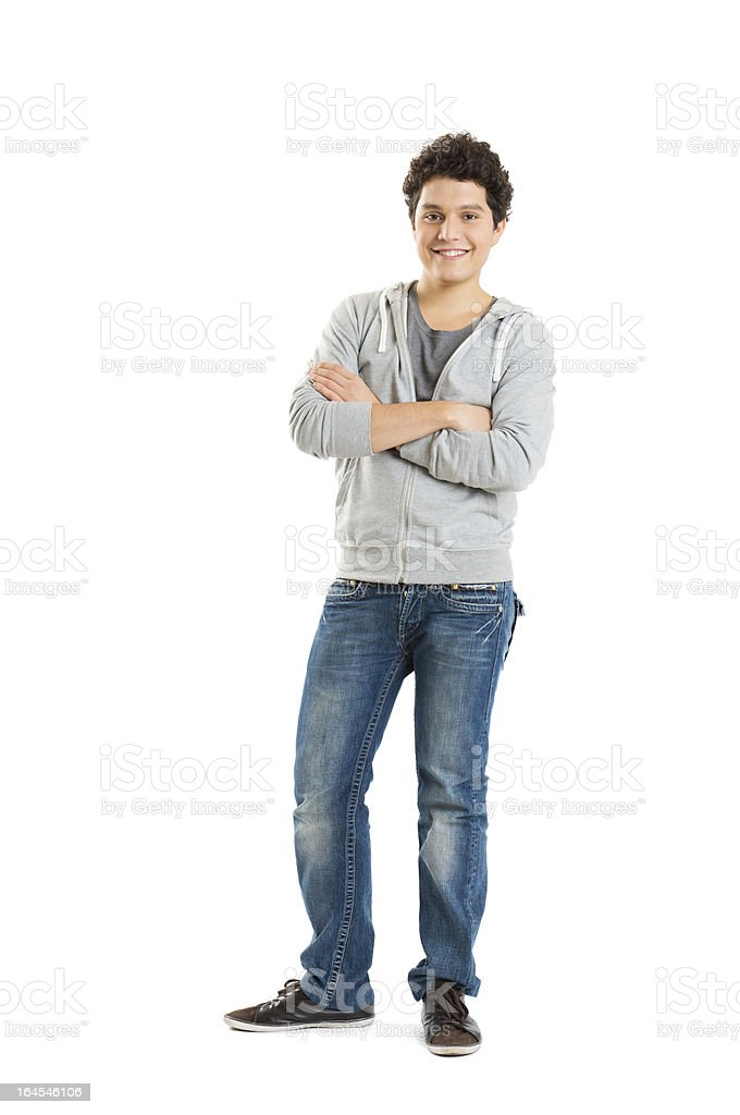 Portrait Of A Cool Young Guy stock photo