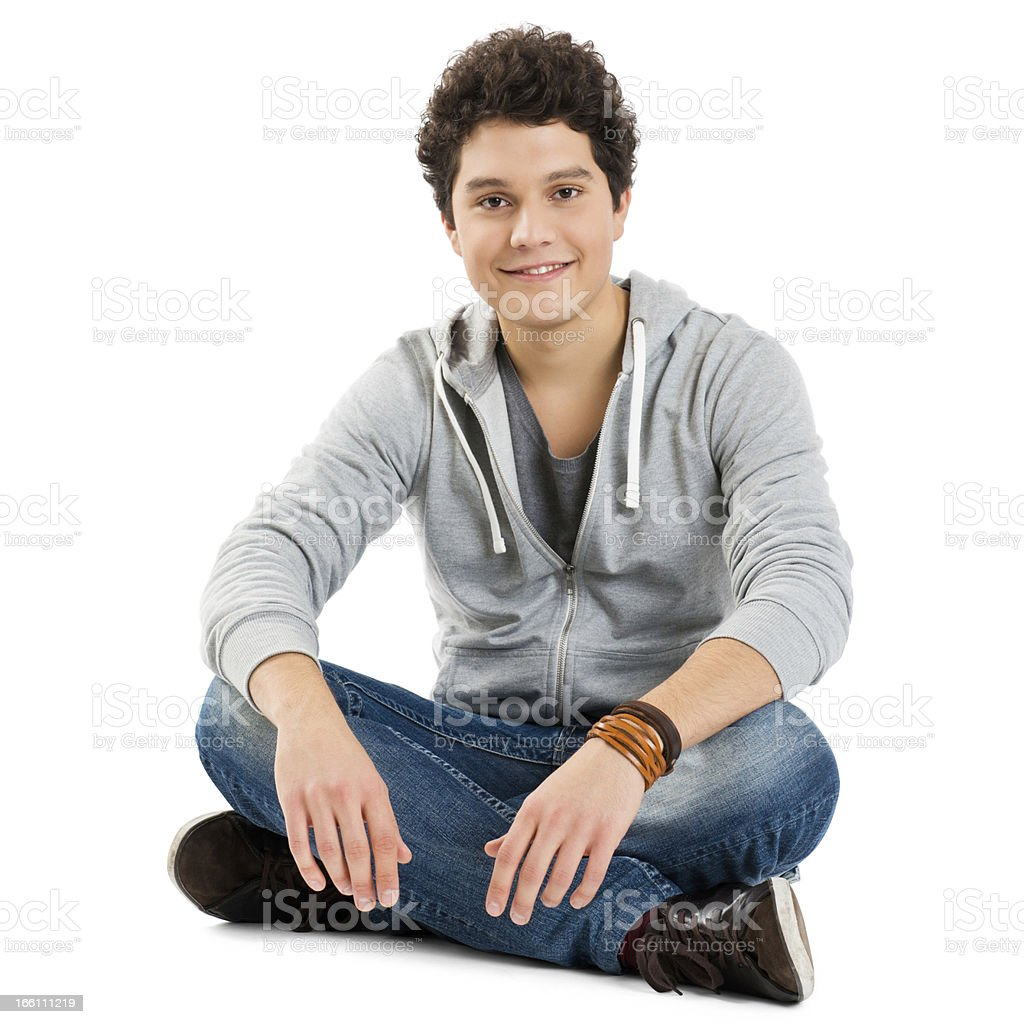 Portrait Of A Cool Young Guy royalty-free stock photo
