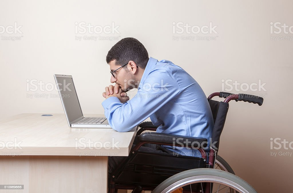 Portrait of a distressed businessma stock photo