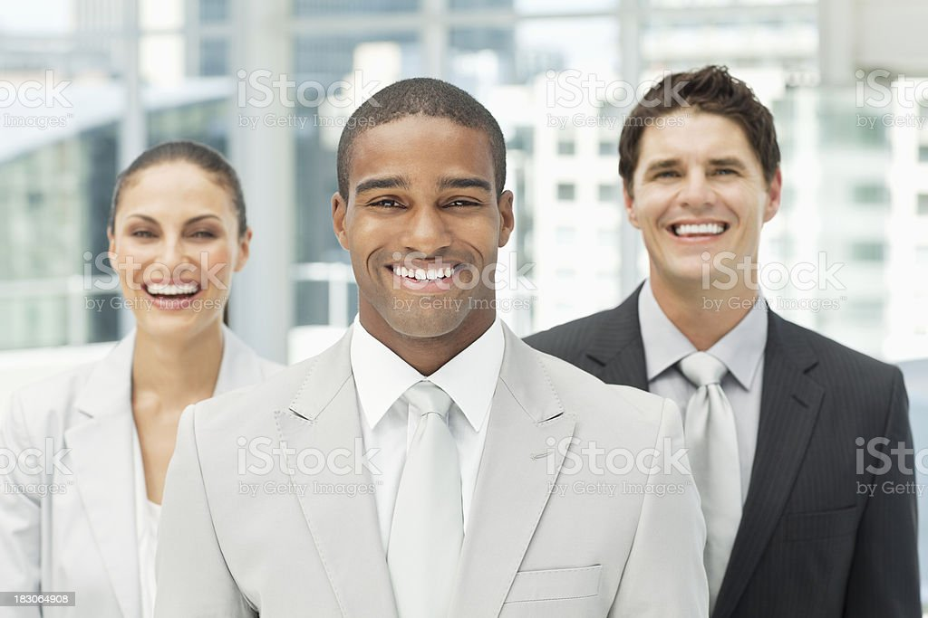Portrait of a Diverse Business Team royalty-free stock photo