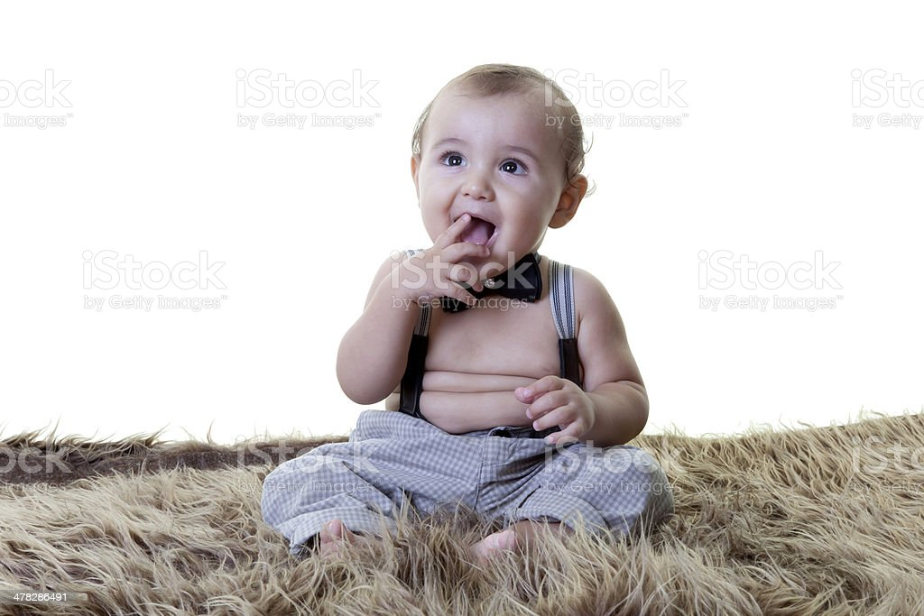 portrait of a future business man royalty-free stock photo