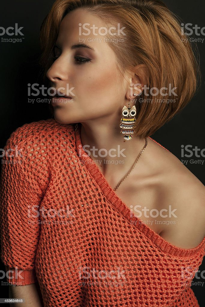 Portrait of a Girl stock photo