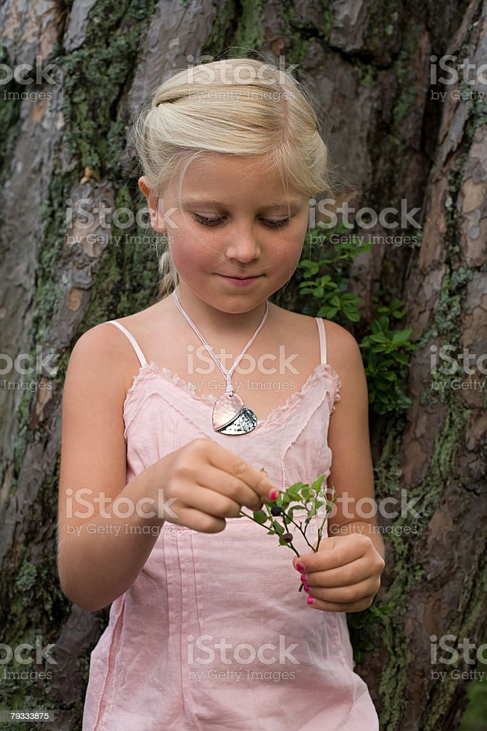 Portrait of a girl royalty-free stock photo