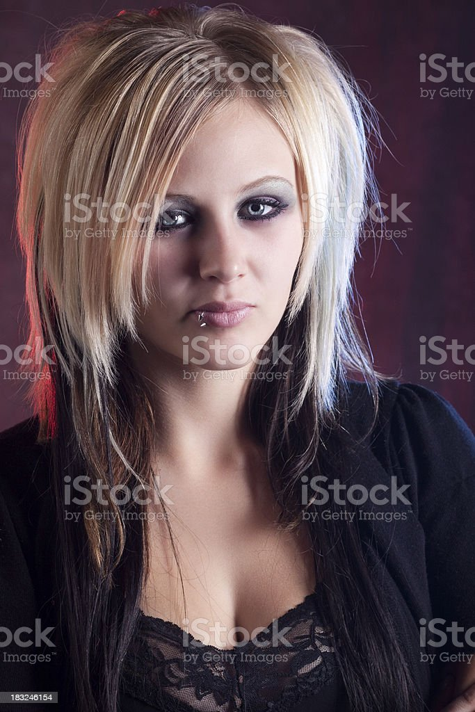 Porträt von Gothic Mädchen mit Stil – Foto