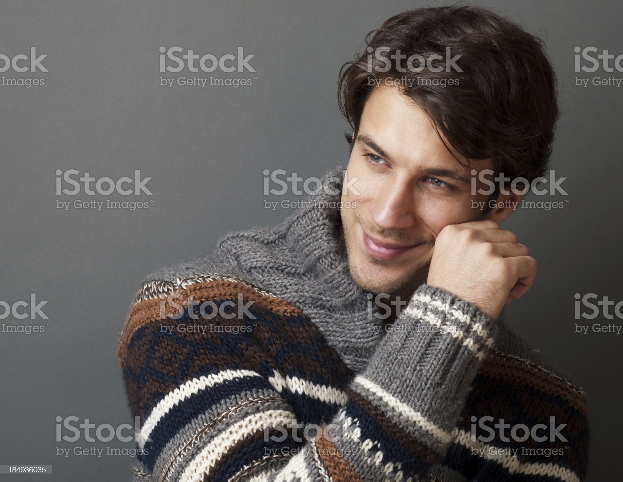 portrait of a handsome man royalty-free stock photo