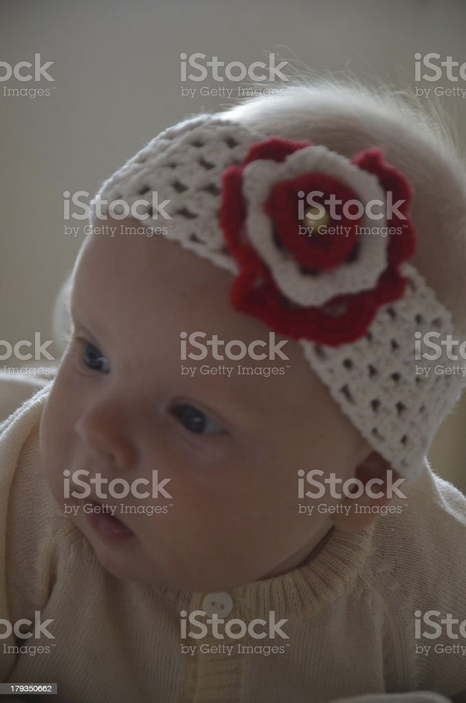 Portrait of a little girl royalty-free stock photo