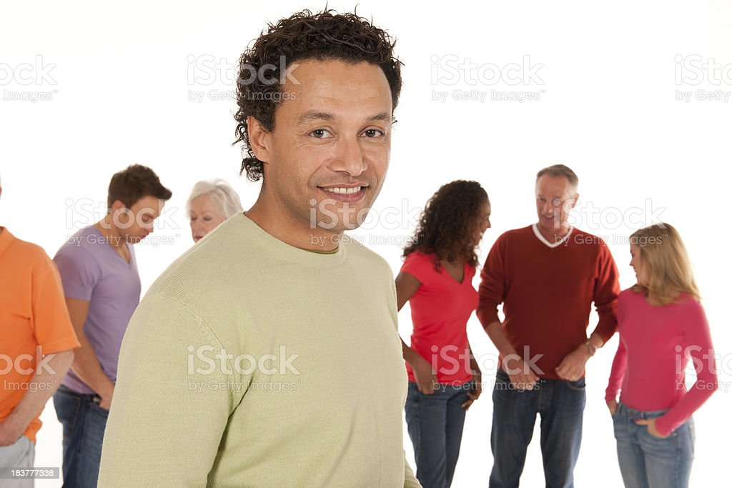 Portrait of a man royalty-free stock photo