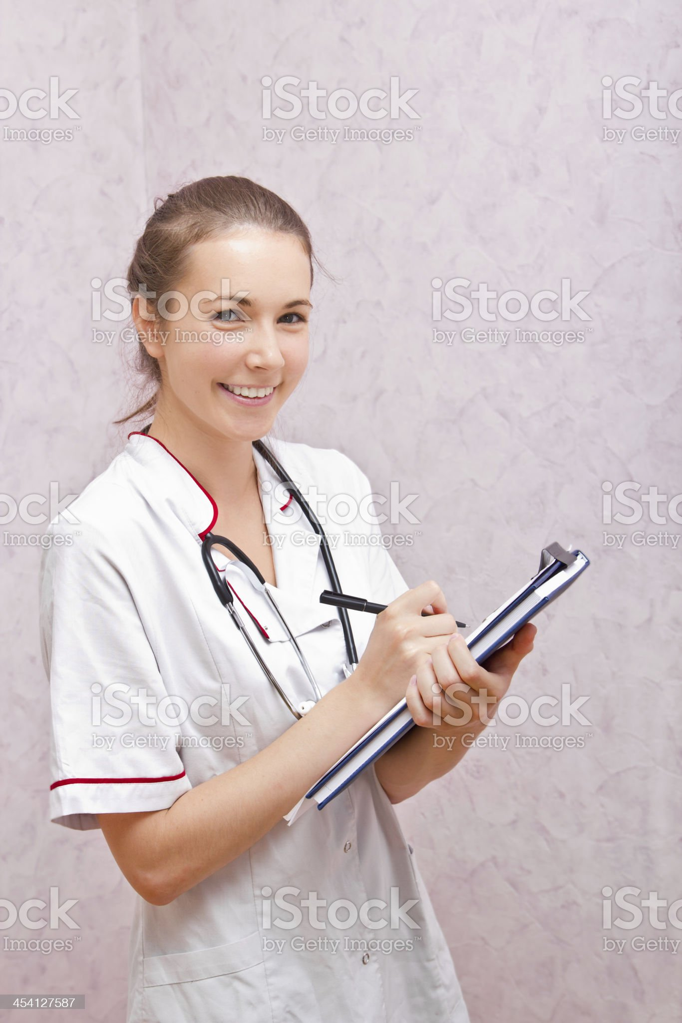 portrait of a nurse royalty-free stock photo