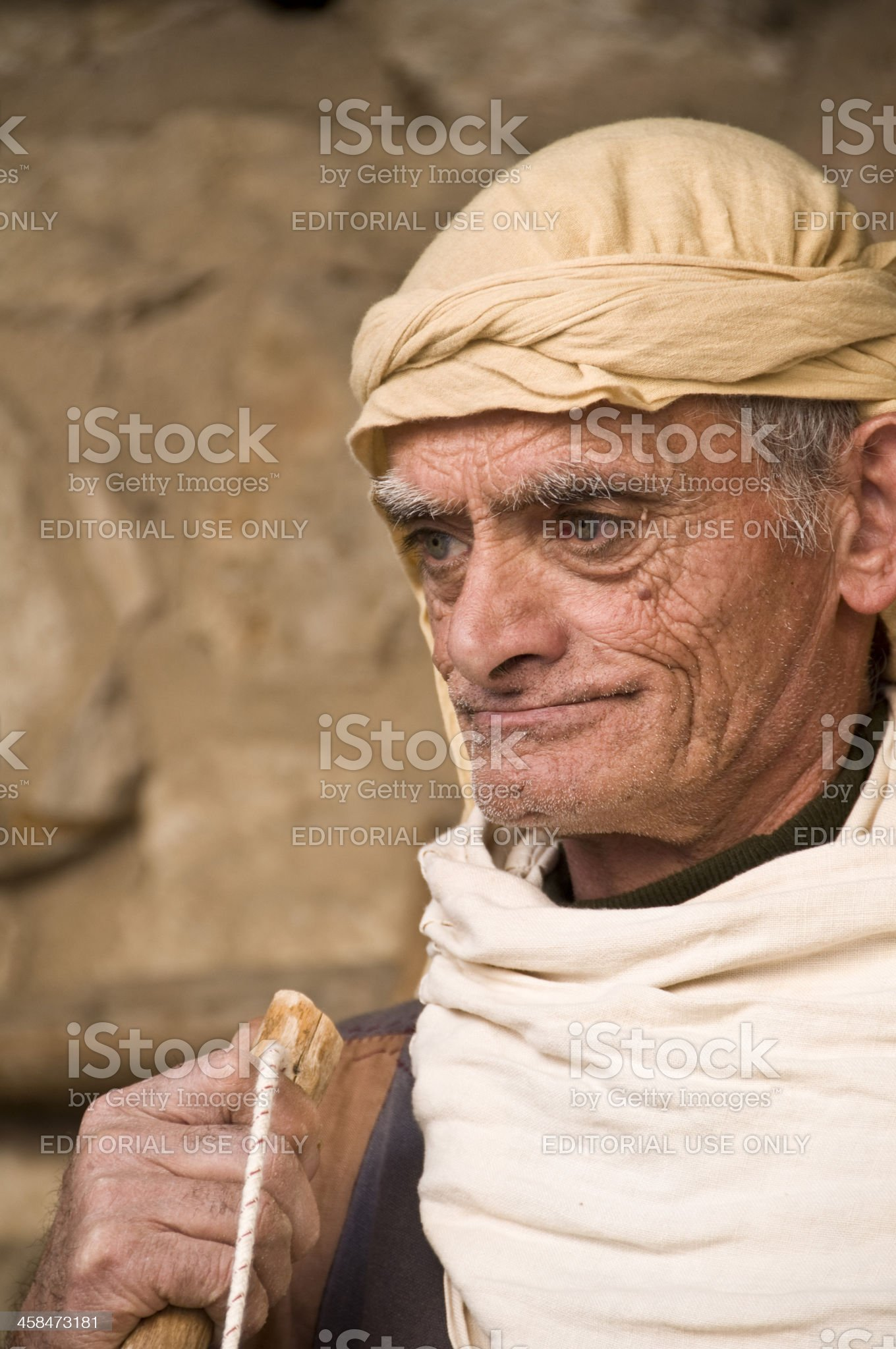 Portrait of a Old Man royalty-free stock photo
