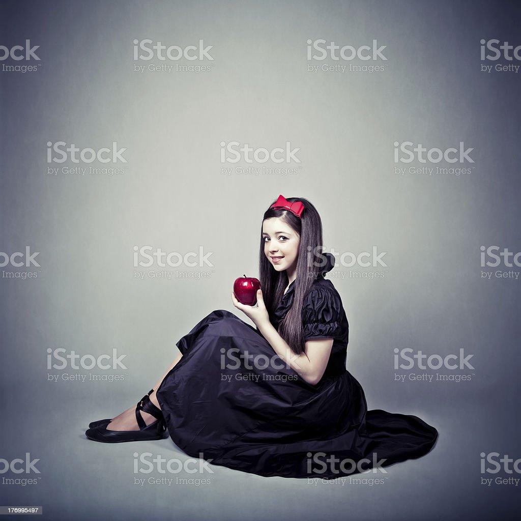 portrait of a sensual fantasy girl royalty-free stock photo