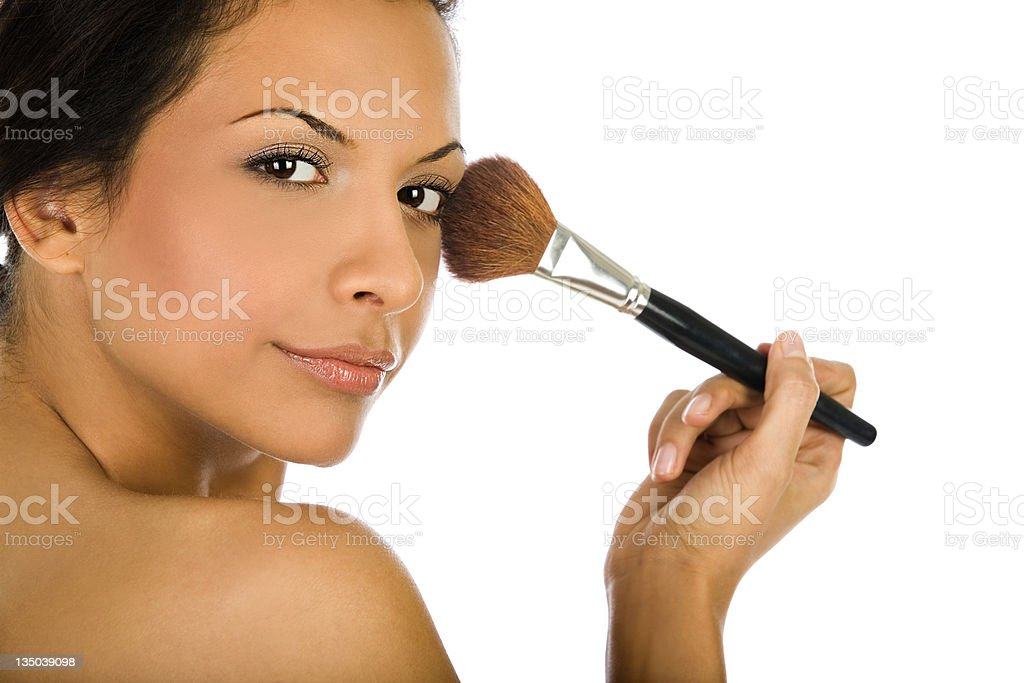 portrait of  a sexy girl royalty-free stock photo