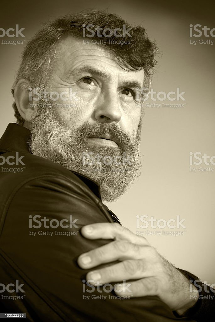 Portrait of a Turkish man royalty-free stock photo