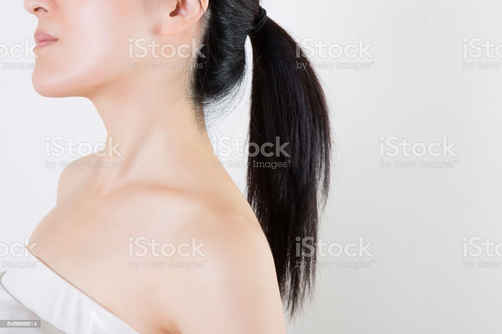 Portrait of a woman stock photo