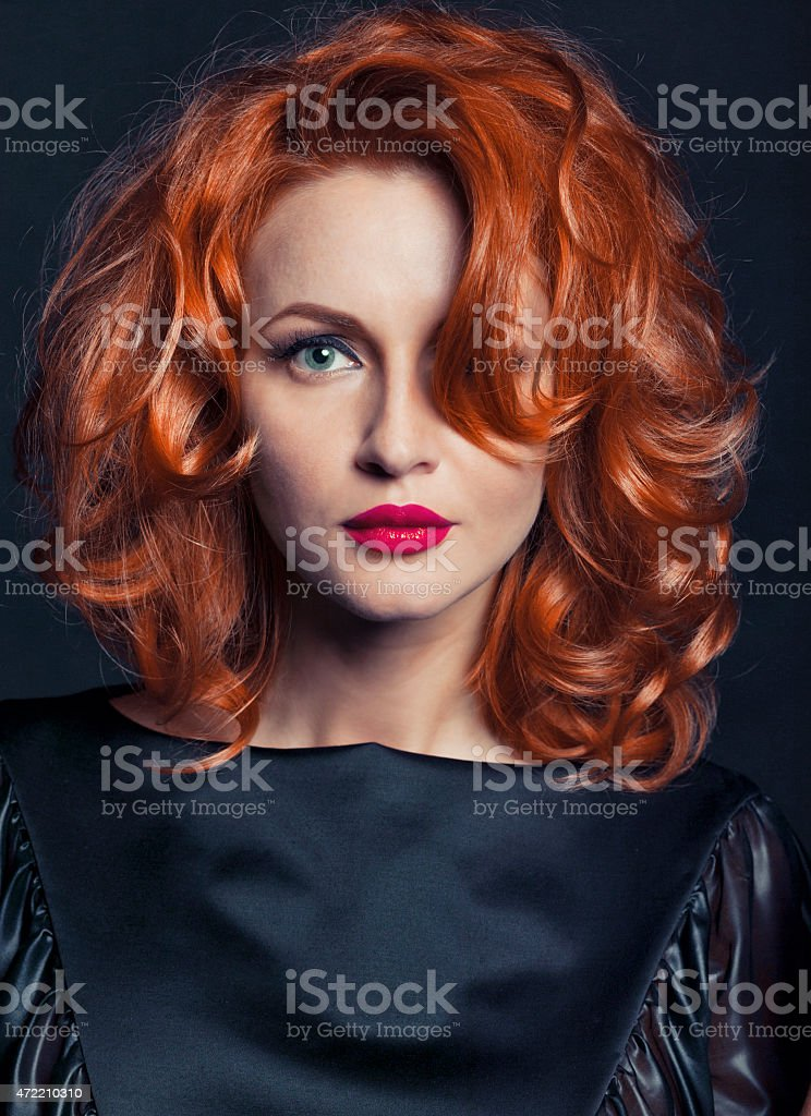 Portrait of a women close-up royalty-free stock photo