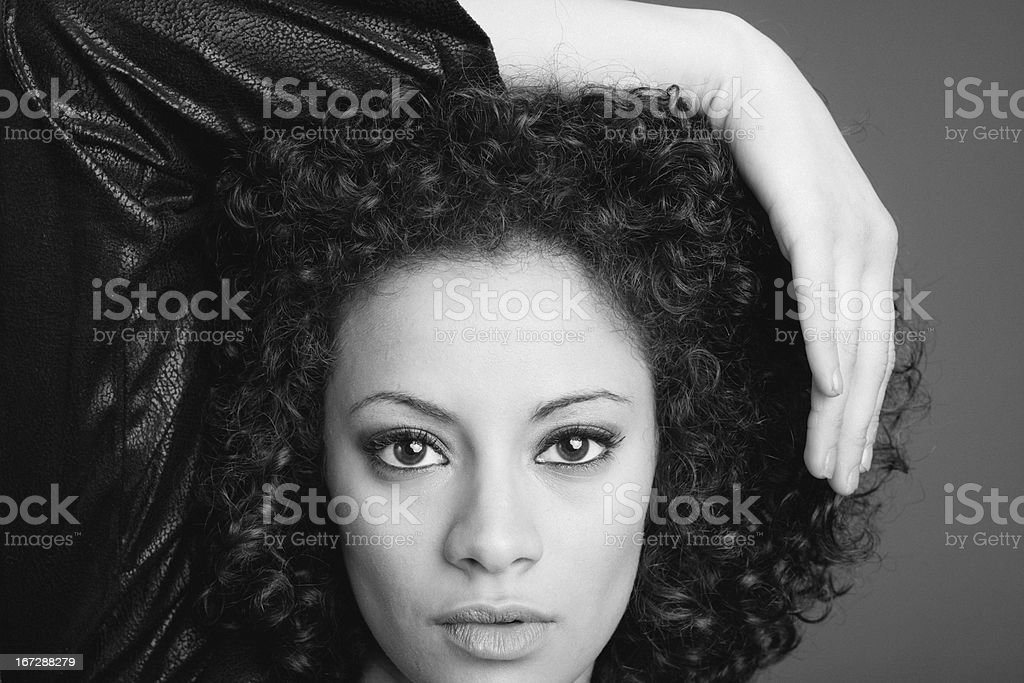 Portrait of a young beauty royalty-free stock photo